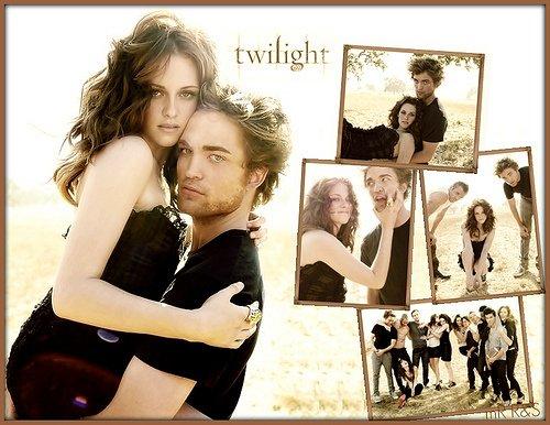 La saga Twilight .