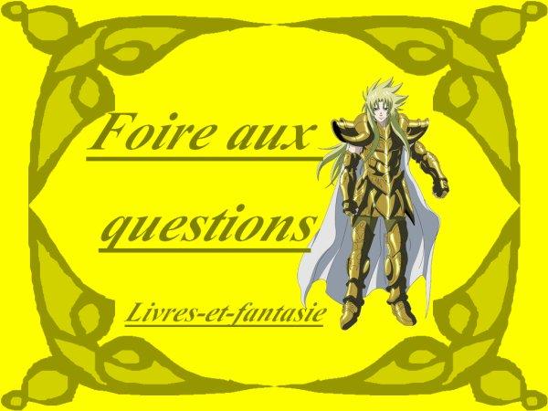 Foire aux questions / FAQ