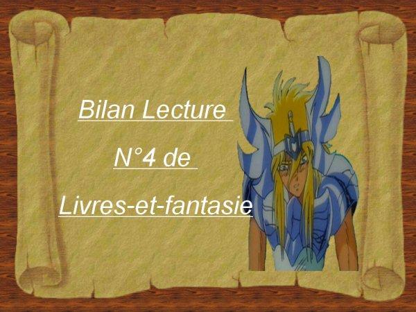Bilan lecture N°4
