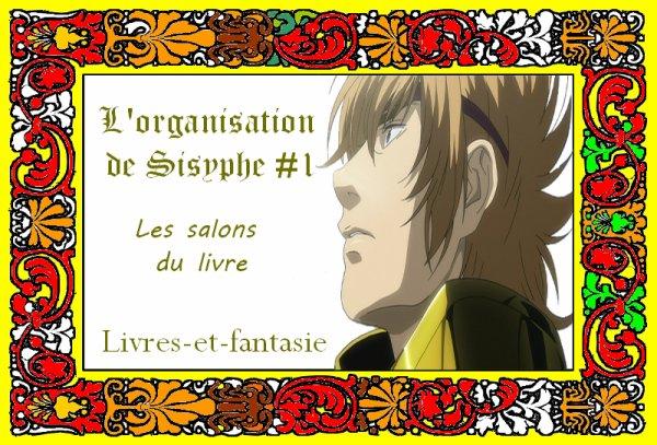 L'organisation de Sisyphe # 1 : Mon organisation pour les salons