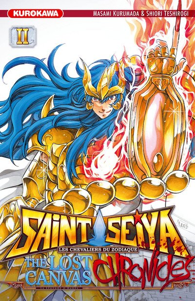 Saint Seiya The Los Canvas CHRONICLES, tome 2 : Kardia du Scorpion - Shiori Teshirogi et Masami Kurumada