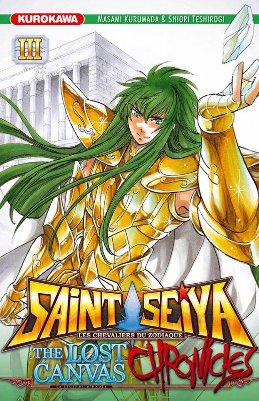 Saint Seiya The Lost Canvas CHRONICLES, tome 3 : Dégel du Verseau - Shiori Teshirogi et Masami Kurumada