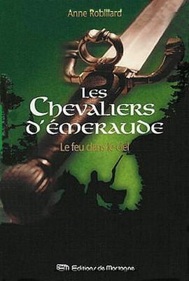 """les histoires de Desmond Miles #1 : """"Les Chevaliers d'Emeraude"""" d'Anne Robillard"""