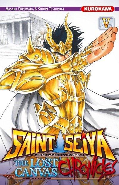 Saint Seiya The Lost Canvas CHRONICLES, tome 5 : El Cid du Capricorne - Shiori Teshirogi et Masami Kurumada