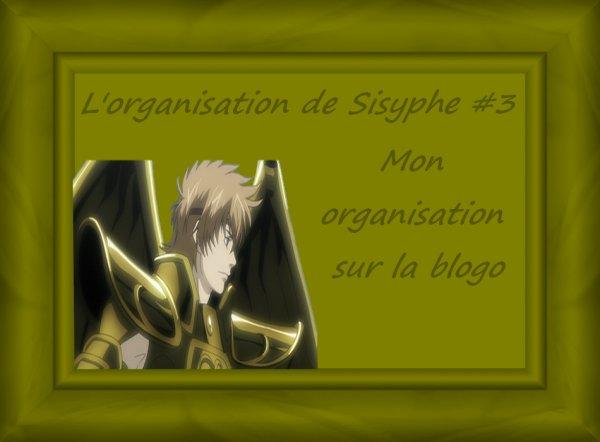 L'organisation de Sysiphe #3 : Mon organisation sur la blogosphère livresque