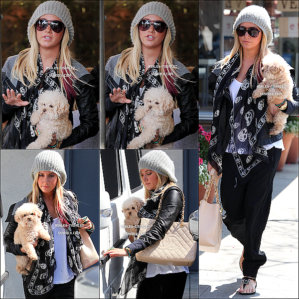 - 13/03/12 : La belle Ashley Tisdale à été repérer sortant de la salle de Gym Equinox à West Hollywood  -