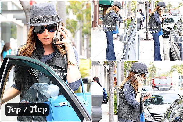 -  20/04/11 :Ashley a été repéré hier à Beverly Hills pour faire du shopping avec sa maman Lisa.   -