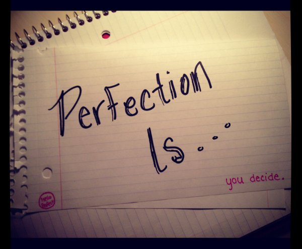 Perfection..