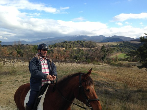 Rando dans les Côtes du Rhone