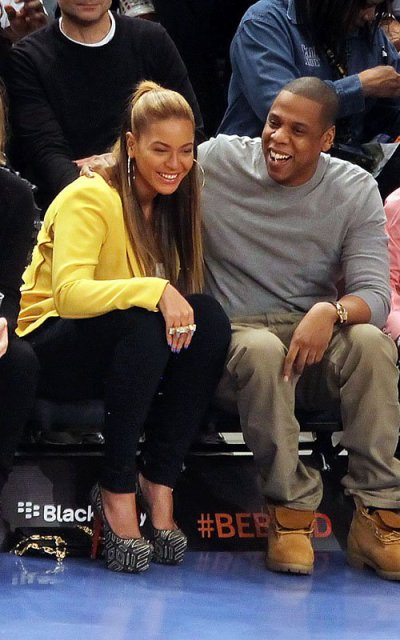 Bee  knicks x nets game - 20/02/2012
