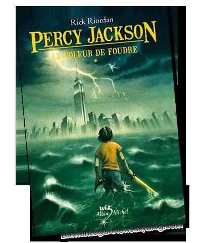 Percy Jackson Tome 1: Le voleur de Foudre ; un livre de Rick Riordan.