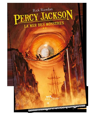 Percy Jackson Tome 2: La Mer des Monstres ; un livre de Rick Riordan.