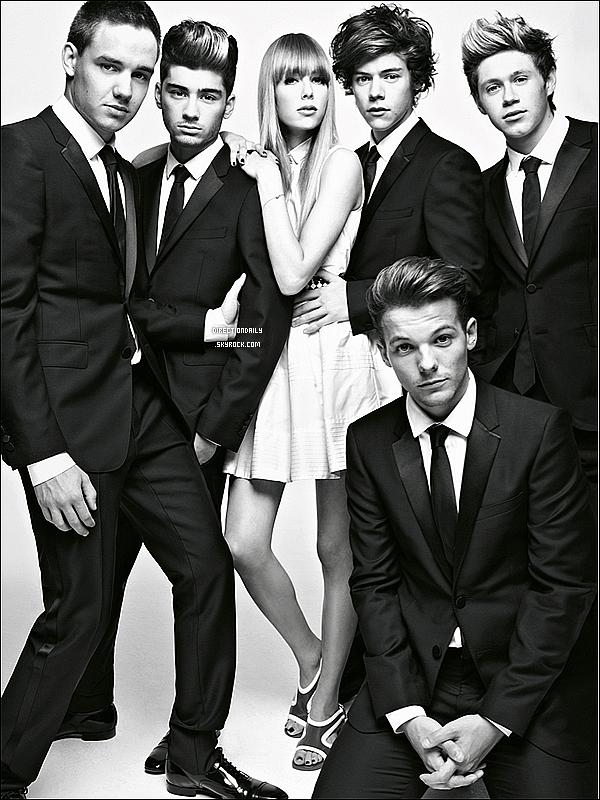 Découvrez un nouveau photoshoot des garçons pour Vogue !