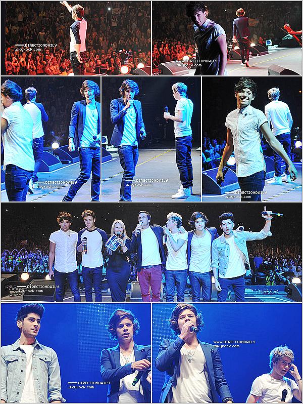22/07/12 - Les gars ont fait une performance plus une interview à Key 103 Live à Manchester
