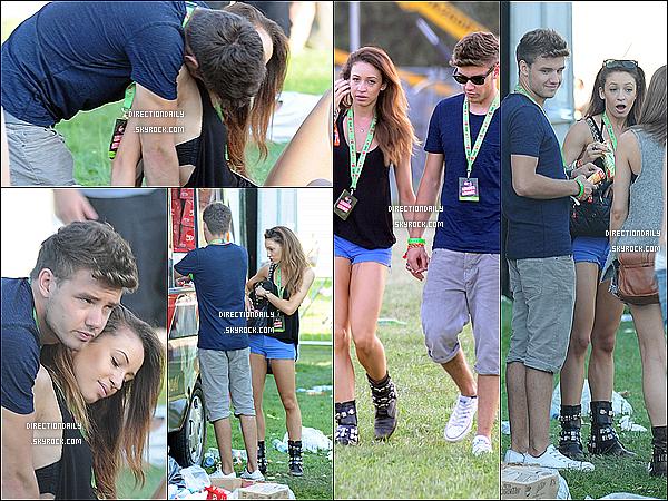 18/08/12 - Louanor & Lanielle se sont rendu au premier jour du « V Festival » à Londres