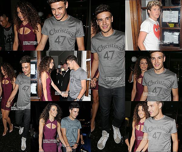 25/08/12 - Liam organisé une fête d'anniversaire au Funky Buddha hier soir avec Harry, Niall et Danielle