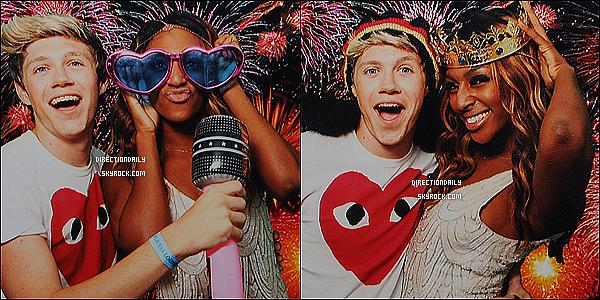 26/08/12 - Niall était présent pour fêter l'anniversaire de Alexandra Burke et de Liam le même jour !