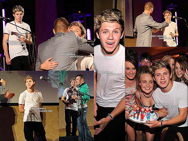 13/09/12 - Niall a fêter son 19e anniversaires avec sa famille et quelques amis (les garçons n'étaient pas présent)
