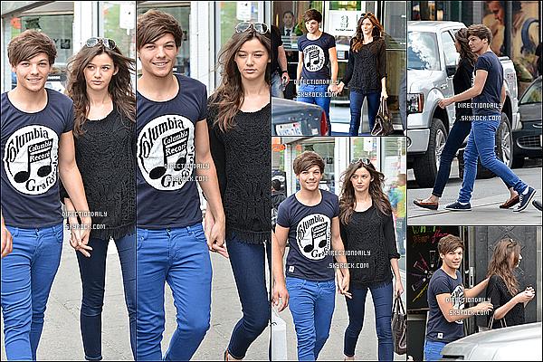 31/05/12 - Louis et Eleanor sont sortis ensemble à Toronto au Canada en se tenant par la main !