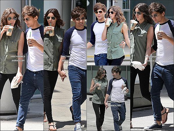 30/05/12 - Louis et sa petite amie Eleanor ont été vus au Canada dans les rues de Toronto !