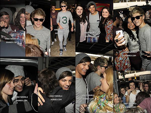 24/04/12 - Après plus de 2 mois ou plus, les garçons sont enfin de retour à la maison à Londres !