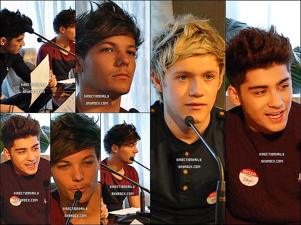 20 Avril 2012 - Les garçons sont en Nouvelle-Zélande, est ont fait une interview sur Bord FM !
