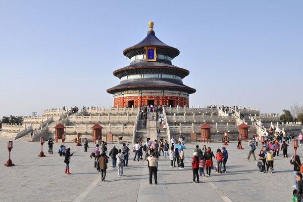 Temple du ciel en Chine