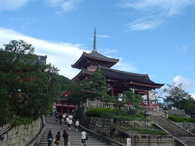 Le temple Kiyomizu-dera