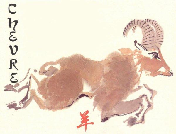Signe 8 : La chèvre !!