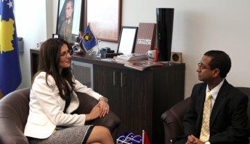 Çitaku takoi shefin e diplomacisë së Maldiveve