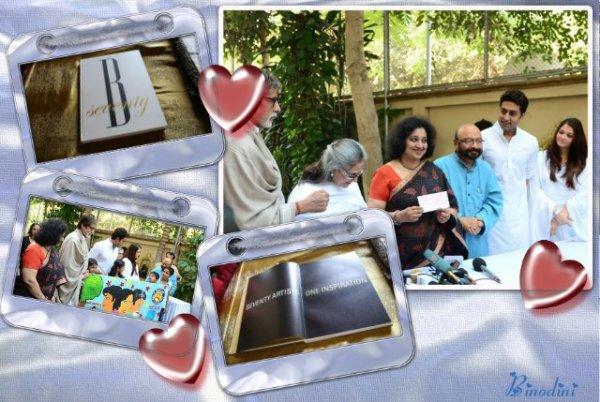 CETTE  CONFÉRENCE  A  ÉTÉ  FAITE  AU  DOMICILE  DE  LA  FAMILLE  BACHCHAN