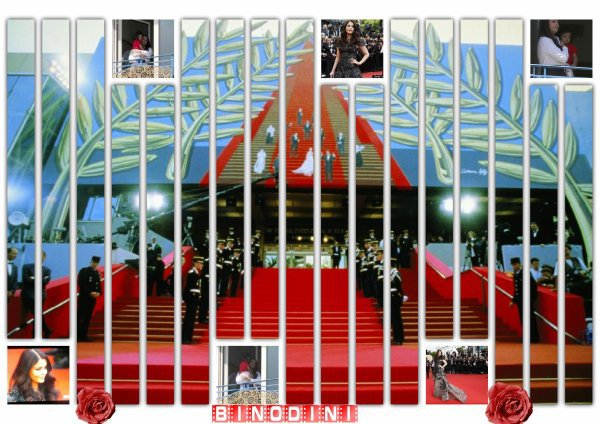 AISHWARYA  RAI  ET  AARADHYA  BACHCHAN  AU  FESTIVAL  DE  CANNES  2013