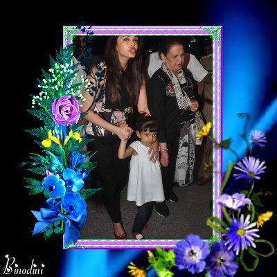 AISHWARYA RAI SA FILLE AARADHYA SES PARENTS VRINDRA ET KRISHNARAJ RAI
