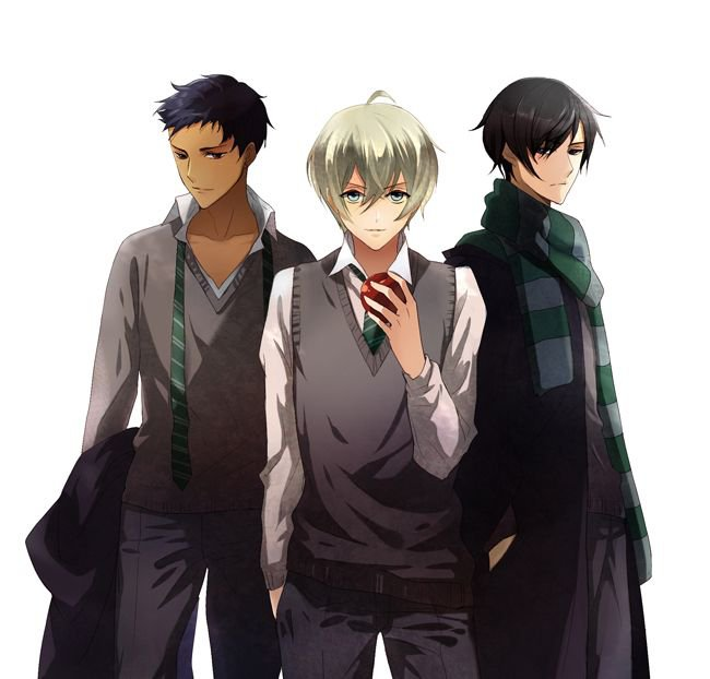 Blaise, Drago & Théodore