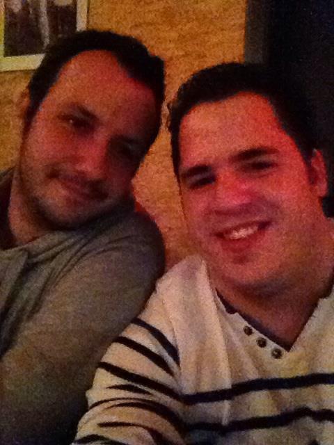 Moi et un ami :)