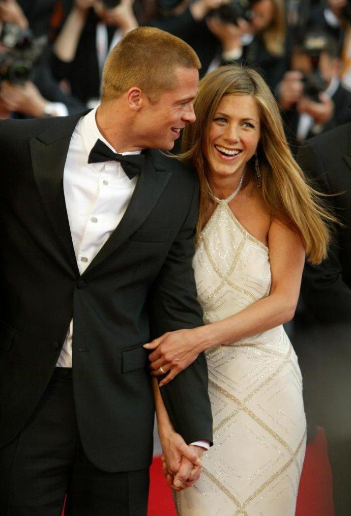 Jennifer Aniston & Brad Pitt