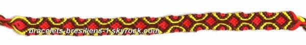 14 eme bracelet: modèle tapisserie