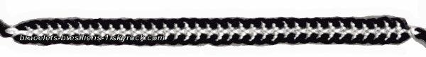 73 ème bracelet: chenille