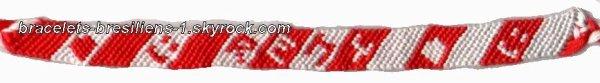 patron / plan de bracelet brésilien prénom !!!!!