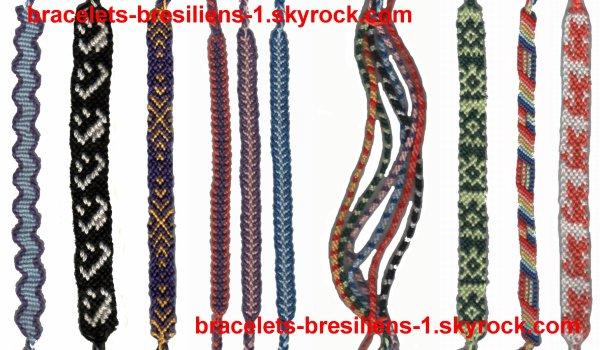 13 ème mélange de bracelets bresiliens