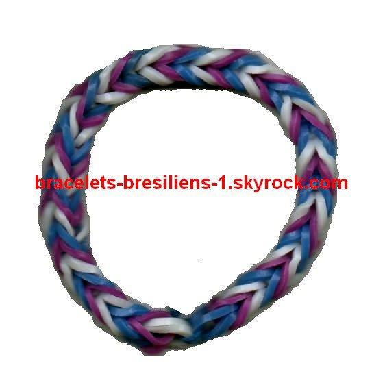 2ème bracelet en loom