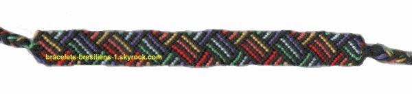 bracelet 149: variation de lignes
