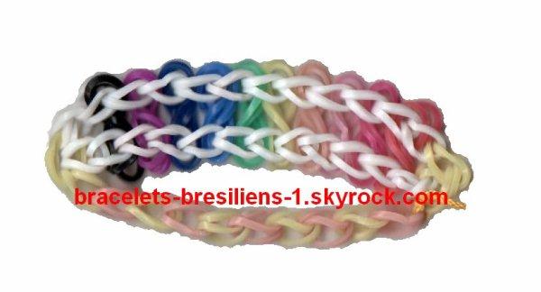 3ème bracelet en élastique