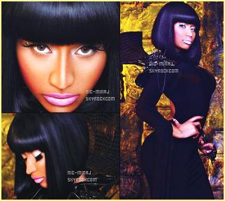 -------  Shoot + Une de magazine    « Vibe Magazine  » la princesse Nicki. - Février 2012.    Ses photos ont été realisé au même moment que son clip Va Va Voom qui lui sortit vraiment plus tard. J'aime beaucoup les photos. Top.  -------