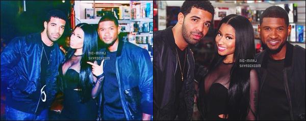 ------- ● ● Découvrez la video Behind the Scenes  du clip de She Came to Give It to You.   Nicki Minaj est grave sexy sur la video, on peut y voir qu'elle est accompagné du rappeur Drake lors du tournage. J'adore ses cheveux. -------