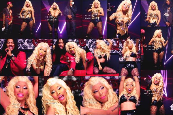 -------   Découvrez le clip de Waka Flocka, avec Tyga & Nicki Minaj « Get  Low »  -  Aout 2012.     Extrait de l'album de Waka Flocka . Le clip et produit par Benny Boom à Los Angeles. J'adore beaucoup la tenue qu'elle porte. Gros top.  -------