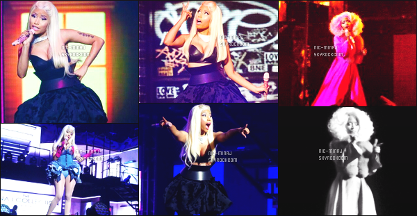 ------- 05/12/12 : Nicki  Minaj photographiée  pendant sa tournée  « Roman Reloaded Tour » - à  Melbourne    (Australie).  Photos HD/Telephones portables. Nicki est tellement belle et au top à travers toutes ses perruques et tenues. Vraiment sublime, donc top. -------