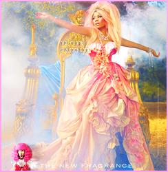 ------- ● ● Decouvrez la video pub du nouveau parfum « Minajesty » de Nicki Minaj. Aussi la photo promotion de se parfum. Je suis complètement fan. Nicki Minaj est parfaite das le role de la princesse. Original la perruque.  -------