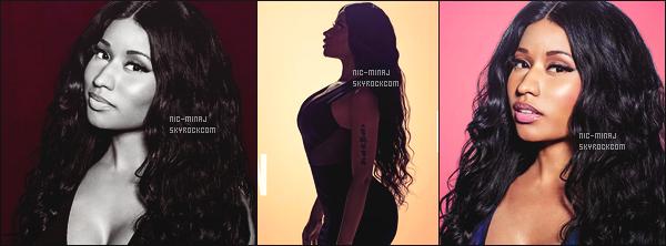 ------- ● ● Découvrez les photos promotion de Nicki Minaj pour « Saturday Night Live ». Nicki Minaj est vraiment au top. J'adore beaucoup ses photos qui semble naturelle et simple. J'adore trop la première photo. Gros top.  -------
