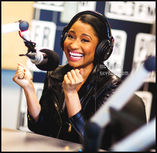 ------- ● ● Découvrez des interviews pour sa promo  du single Pills N Potions - Mai 2014.   Petit article de resumé de Nicki Minaj en radio, traduction par moi - Les photos sont de Nicki Minaj à la radio Power 106 au petit matin. -------